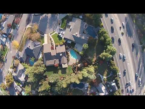 Phantom Drone over Woodward Park - Fresno