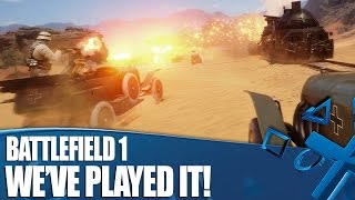 Battlefield 1 - We've Played It! New Multiplayer Details