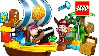 Видео обзоры LEGO Duplo Пиратский корабль Джейка