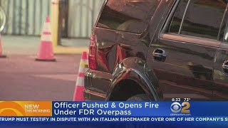Officer Pushed Near FDR Drive