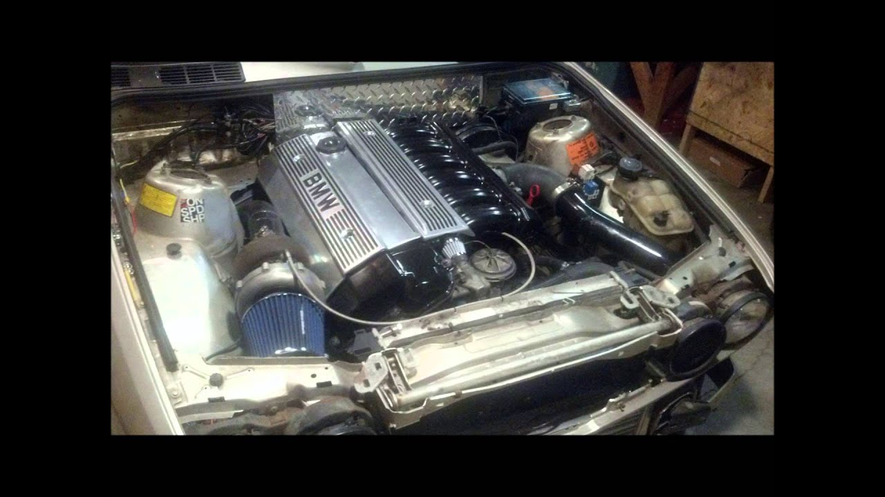 E30 M50 turbo gt35r build