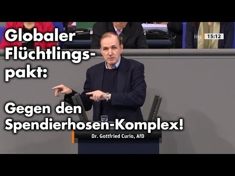 Resettlement nach Deutschland: Umsetzung des Globalen Flüchtlingspaktes | Dr. Gottfried Curio