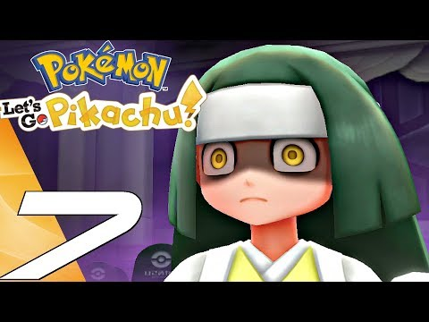 Pokemon Lets Go Pikachu - Gameplay Walkthrough Part 7 - Ghost Tower (Switch)