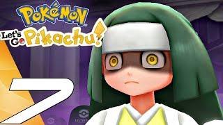 Pokemon Let's Go Pikachu - Gameplay Walkthrough Part 7 - Ghost Tower (Switch)