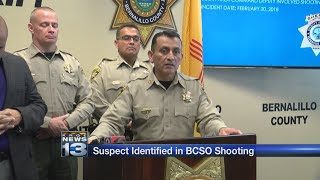 BCSO identifies suspect in deputy-involved shooting