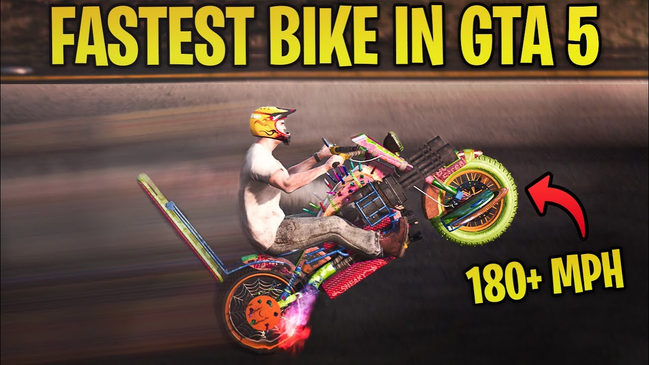 The Fastest Bike In Gta 5 Online In 2020 Is Not What You Think