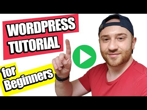 WordPress Tutorial for Beginners 2018: 😀Make a Website (Step by Step) 😍