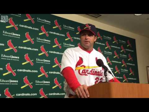 St. Louis Cardinals manager Mike Matheny disappointed Sunday