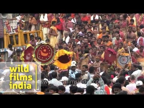 Rath Yatra in Puri is the famous festival of Odiya community