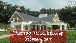 Top 100 House designs February 2018