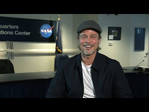 #AskNASA: Brad Pitt Helps NASA Kick Off New Video Series