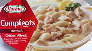 Hormel Compleats: Chicken Alfredo Food Review