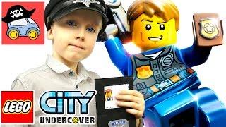 🚓 LEGO CITY UNDERCOVER прохождение на PS4 #1 ПОЛИЦЕЙСКИЙ ПОД ПРИКРЫТИЕМ Жестянка Лего