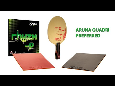 New JOOLA Rhyzm P! - Aruna Quadri Preferred!