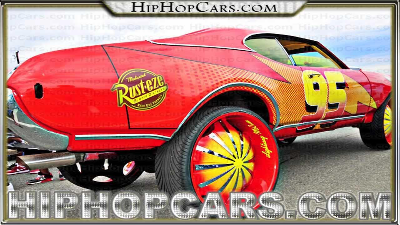 Real Lightning Mcqueen Themed Cutlass Car Youtube