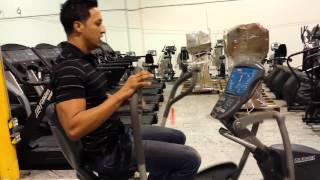 Octane XR 6000 Recunbent / Seated Elliptical - More Features than NuStep & Physiostep!