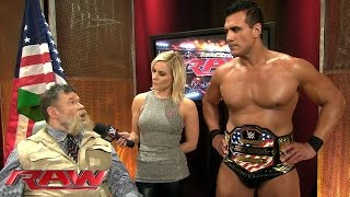 Alberto Del Rio breaks his silence: Raw, October 26, 2015