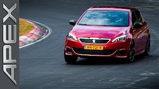 Peugeot 308 Gti By Peugeot Sport (270 Hp) - Nürburgring - Hotlap (26.08.2016) (English Subtitles)