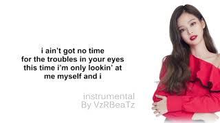 Gambar cover JENNIE - 'SOLO'  ( Instrumental by VzRbeaTz ) Lyric Video