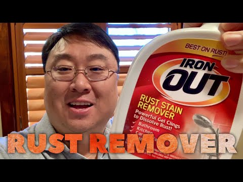 Iron OUT Rust Stain Remover Spray Gel Review