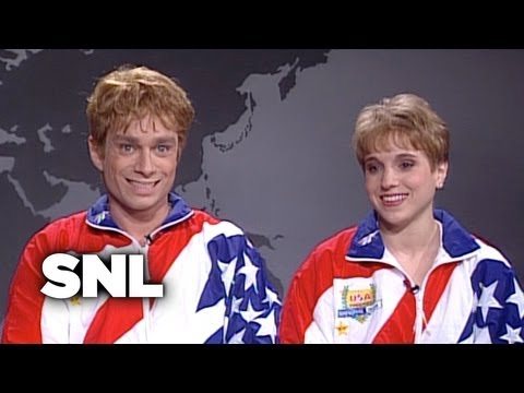 Weekend Update: Kerri Strug and Kippy Strug on Winning Olympic Gold - SNL