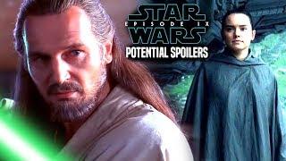 Star Wars! HUGE Qui Gon Scene In Episode 9! Potential Spoilers & More