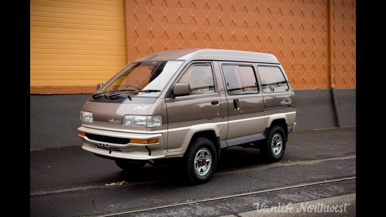 sale review: 1991 toyota liteace limited 4wd van by vanlife northwest