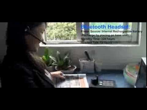 Online Leo Store, Handsfree Wireless Bluetooth Headset System