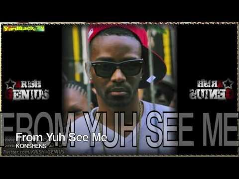 Konshens - From Yuh See Me (Raw) [Money Box Riddim] June 2012