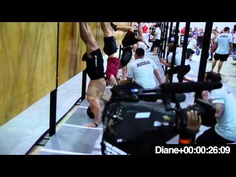 CrossFit Games Regionals 2012 Dan Bailey Vs Diane
