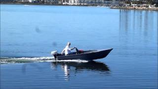 Gregor 12 Aluminum Boat Mission Bay San Diego Sears 7hp Outboard