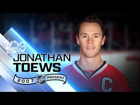 Jonathan Toews captained Chicago to three Cup wins