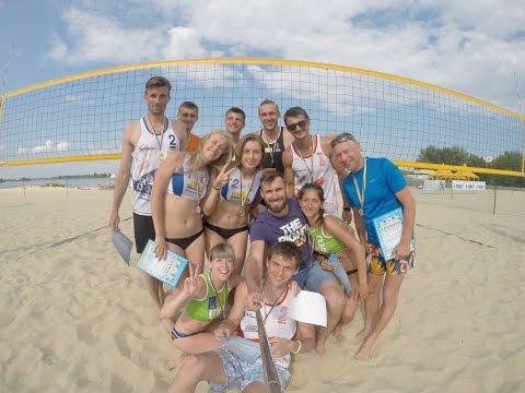 Cherkasy Beach Volleyball Open 2015 1 tour Highlights