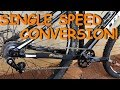 Basic MTB Single-Speed Conversion! How To!