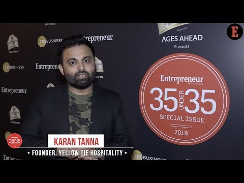 From Shutting down His First Restaurant to Building Up a 200% year-on-year Growth Business - Here's Why He Made it to Entrepreneur India's 35under35