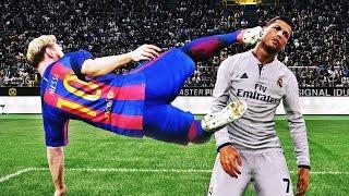 Смешные моменты в Pro Evolution Soccer 2017
