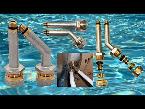 Надёжный способ подключения смесителя к водопроводу. Гибкая подводка.