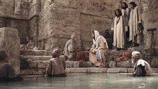イエスは安息日に病気の人を癒す奇跡を行う。
