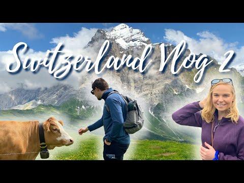SWITZERLAND VLOG PART 2 | DAY IN THE ALPS, ZIPLINING, HIKING, BIKING