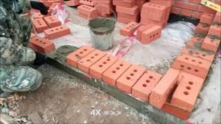 Как сделать крыльцо для дома из кирпича. How to make a porch.(, 2016-10-30T01:06:46.000Z)