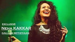 NEHA KAKKAR-Gallan Mithiyaan Exclusive || Tony Kakkar || Chandigarh 2016