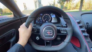 Bugatti Chiron Sport 2020 Sound, Start up, Revs and Acceleration - My Visit to the Bugatti Factory