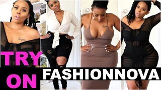 Fashion Nova Try On Haul With Sizing- Jeans, Dress, Plus- Size, Curvy