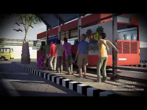 3D ANIMATION for Traffic Gridlock Resolution at Iyana Oworo Lagos State