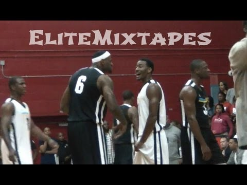 Team LeBron vs. Team Durant; 2011 NBA Lockout Game of the Year!
