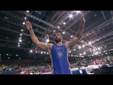 Kazakhstan v Russia Freestyle Wrestling Bronze Medal Match -- London 2012 Olympics
