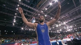 Kazakhstan v Russia Freestyle Wrestling Bronze Medal Match -- London 2012 Olympics