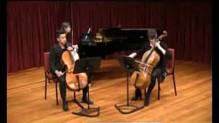 Handel Trio Sonata in G minor Op 2 no 8 for 2 cellos and piano