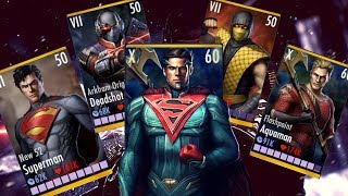 Top 3 Most OP Characters! Injustice Gods Among Us Patch 2.17! iOS/Android!