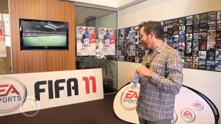 Linkin Park playing FIFA 11
